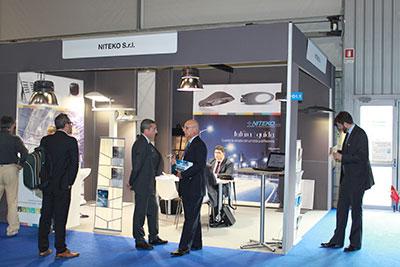 Smart Energy Expo 2014. Niteko products raised interest and curiosity.