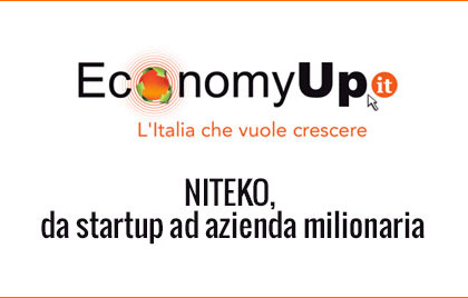 Niteko, da startup ad azienda milionaria