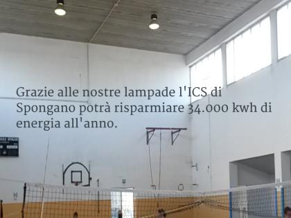 Grazie alle lampade Niteko, la scuola di Spongano risparmierà energia