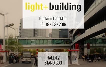 Niteko at Light + Building 2016: the most great international exhibition on lighting field