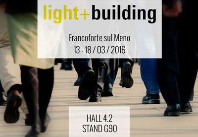 Niteko al Light + Building 2016, la più grande fiera internazionale dell'illuminazione