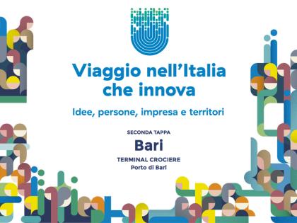 Viaggio nell'Italia che innova. Bari 4 Marzo 2016.