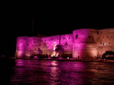Luce (LED) rosa contro il tumore