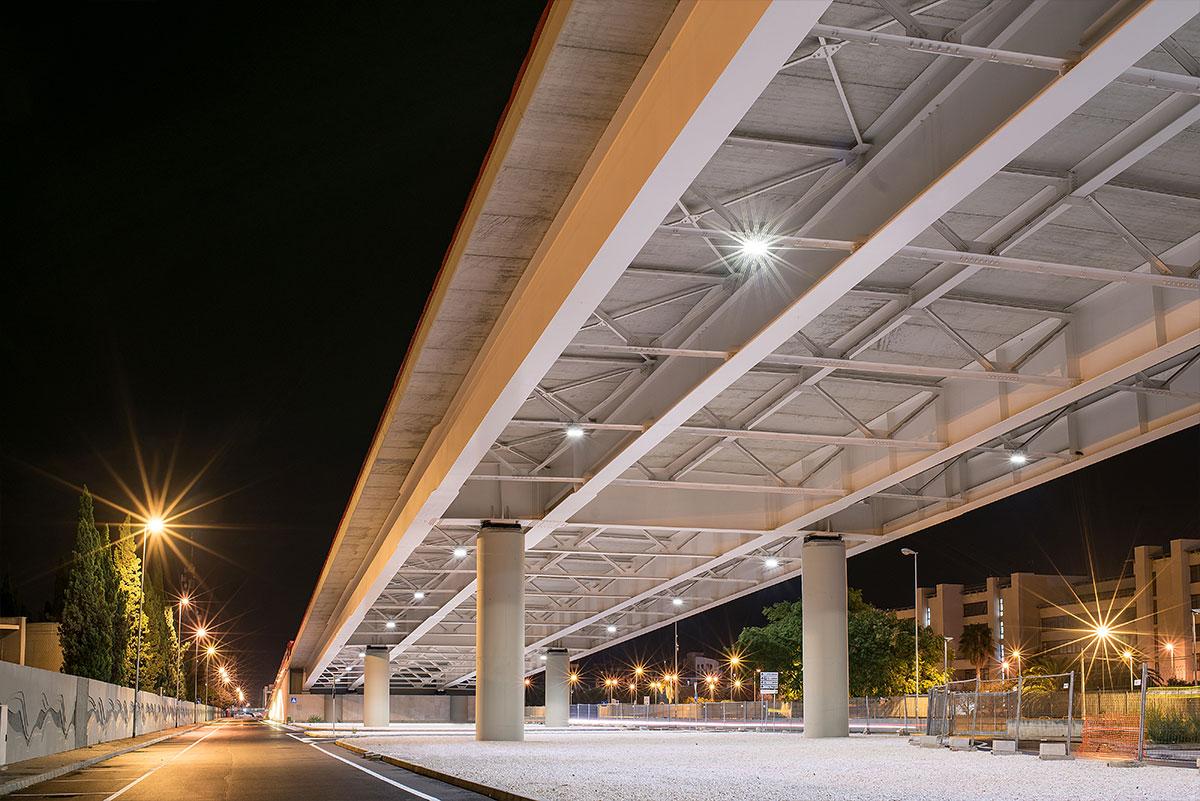 Ponte strallato bari 4 niteko innovazione nellilluminazione