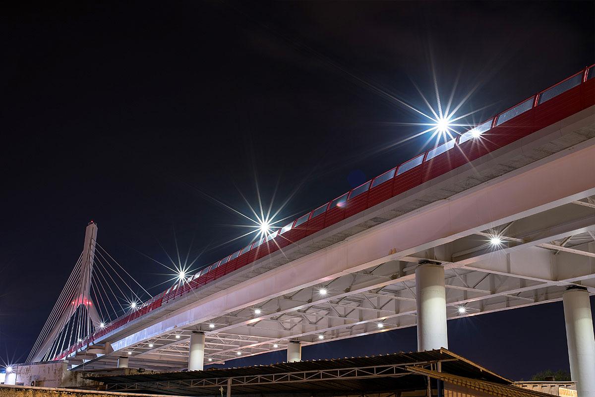 Illuminazione stradale ponte strallato di bari prodotti