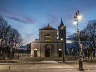 658 Guide and 165 Venere installed in town of Avezzano