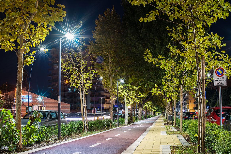 Illuminazione stradale: città di taranto. prodotto installato: urano