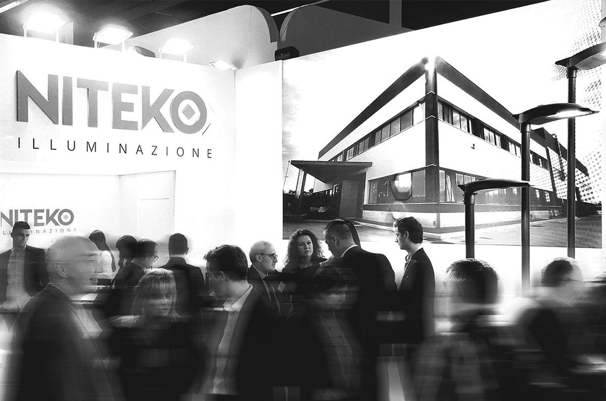 La tecnologia di niteko al light building di francoforte niteko