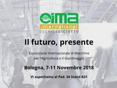 EIMA 2018. Esposizione Internazionale di Macchine per l'Agricoltura e il Giardinaggio