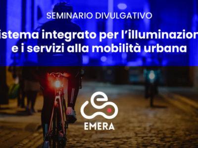 Sistema integrato per l'illuminazione e i servizi alla mobilità urbana. Seminario divulgativo