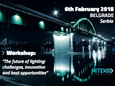 Il futuro dell'illuminazione: sfide, innovazione e opportunità. Workshop, Belgrado, Serbia